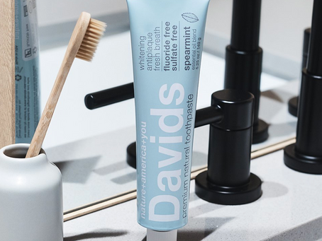 Product Review: Davids Natural Toothpaste