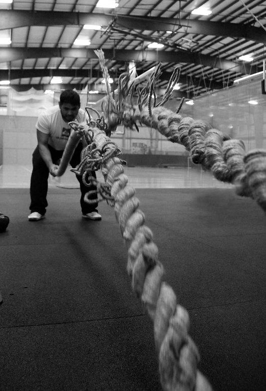 Battle Ropes Training