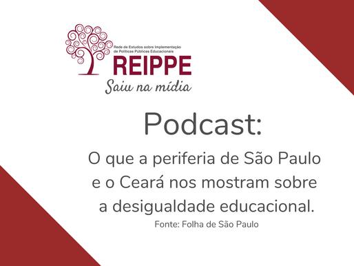 Podcast Sobre desigualdade Educacional com Vanda Mendes