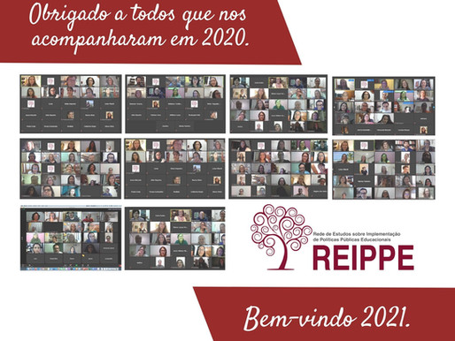 Mensagem de final de ano da REIPPE 2020.