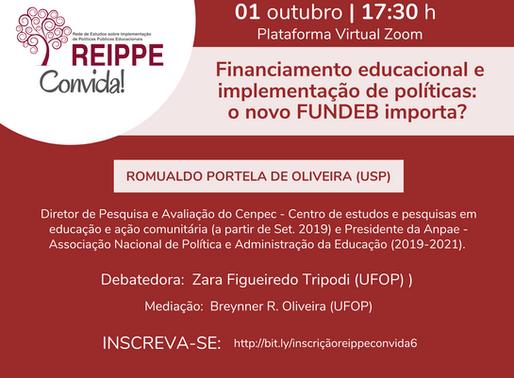 REIPPE Convida #6: Financiamento educacional e implementação de políticas: o novo FUNDEB importa?