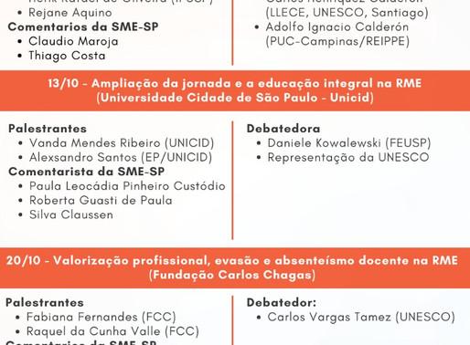 """REIPPE Divulga: Seminários """"Educação em Pesquisa"""""""