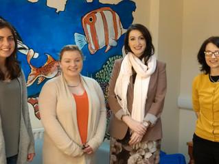 Junior Minister Pengelly visits Sólás