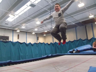 Champ Youth teens take the trampoline by storm