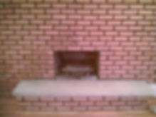 Big Apple Restoration Sandblasted Fireplace