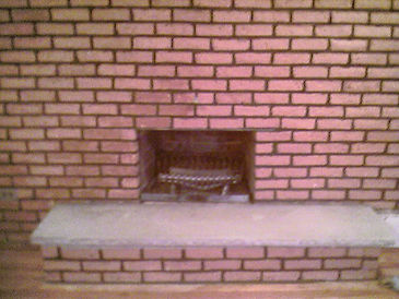 Big Apple Restoration Sandblasted Fireplace