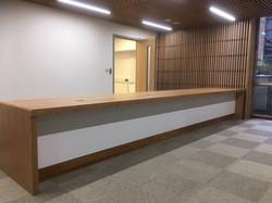 Reading University Reception Desk