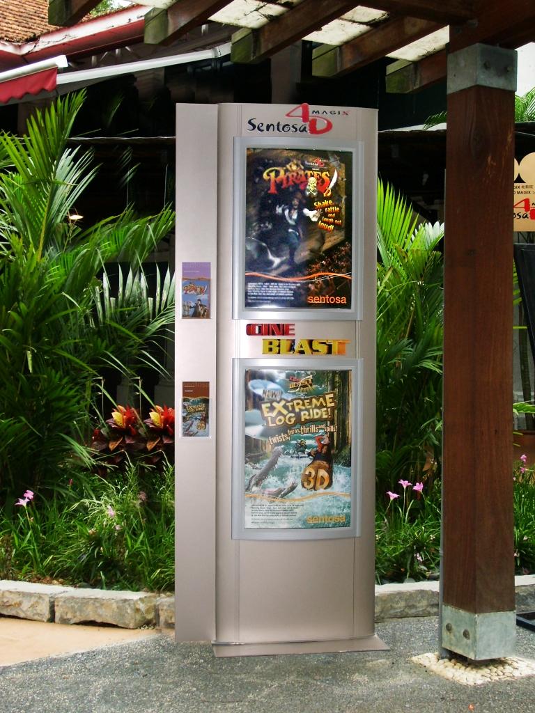 Sentosa 4D AdventureLand Theme Park