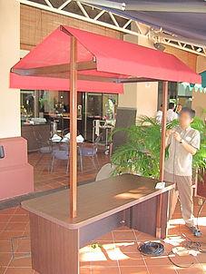 buffet stand