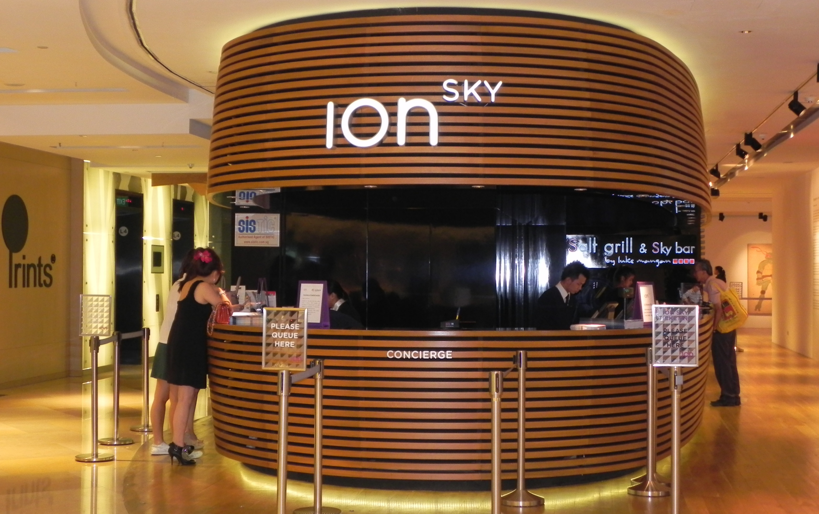 ION Orchard, ION Sky