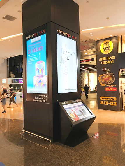 Digital Directory Wayfinder 3D Mobile Wayfinder