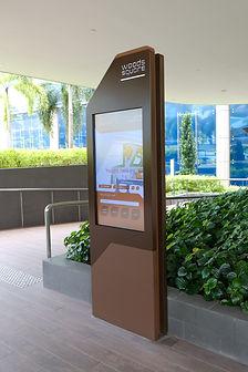 Woodsquare Digital Directory Wayfinder 3D Mobile Wayfinder
