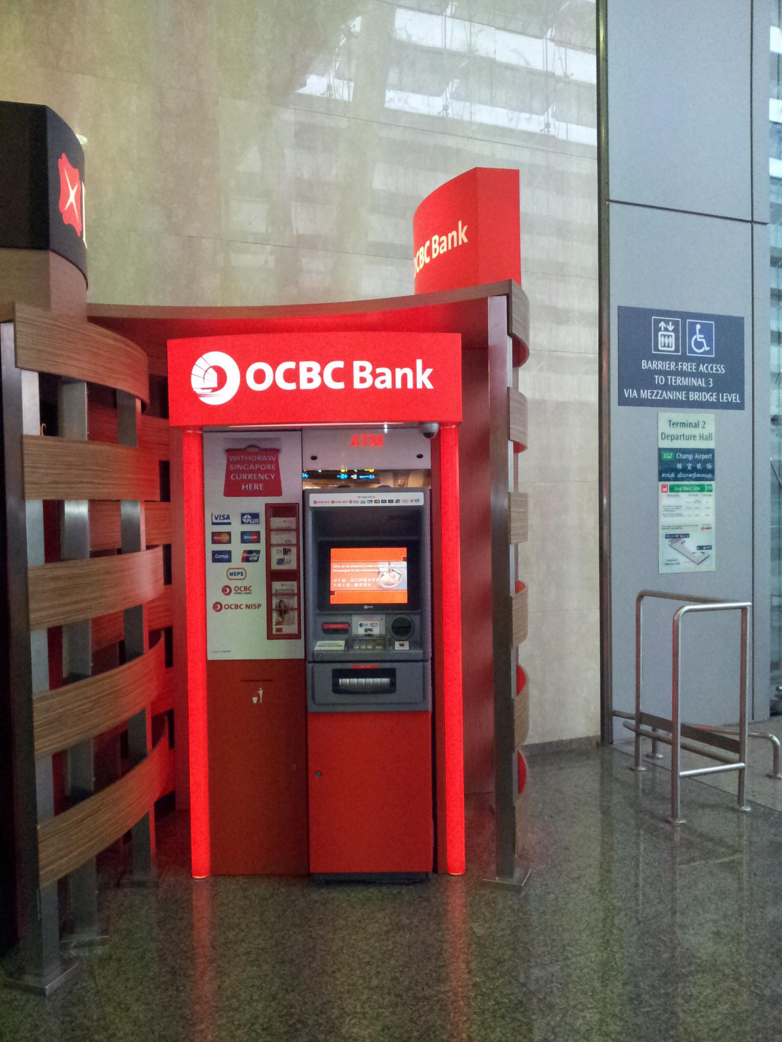 OCBC@Changi Airport Terminal 2