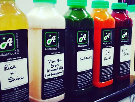 What is the benefit of cold-pressed juice?