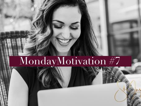 MondayMotivation #7: Denk Aan Jezelf!