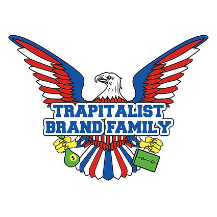 TRAPITALIST BRAND FAMILY logo design out