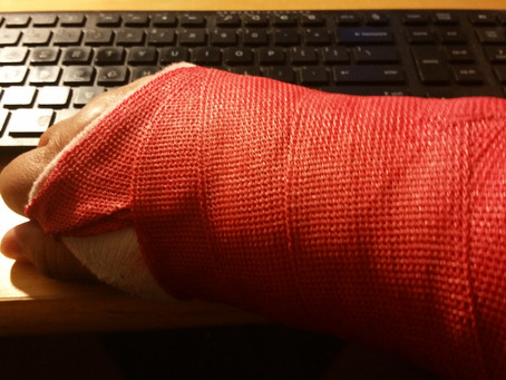 Life with a cast