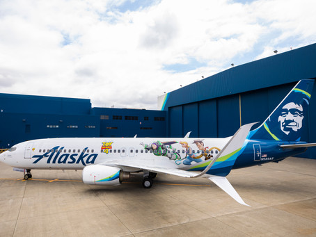 Alaska Airlines adds second Disney themed aircraft to their fleet