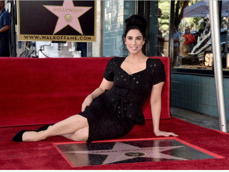 Sarah Silverman Earns Her Star