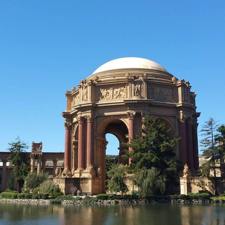 Palace of Fine Arts.