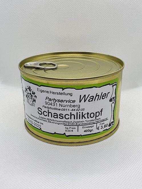 Schaschliktopf - 400g Dose