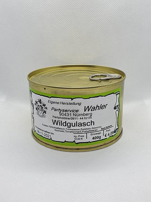 Wildgulasch - 400g Dose