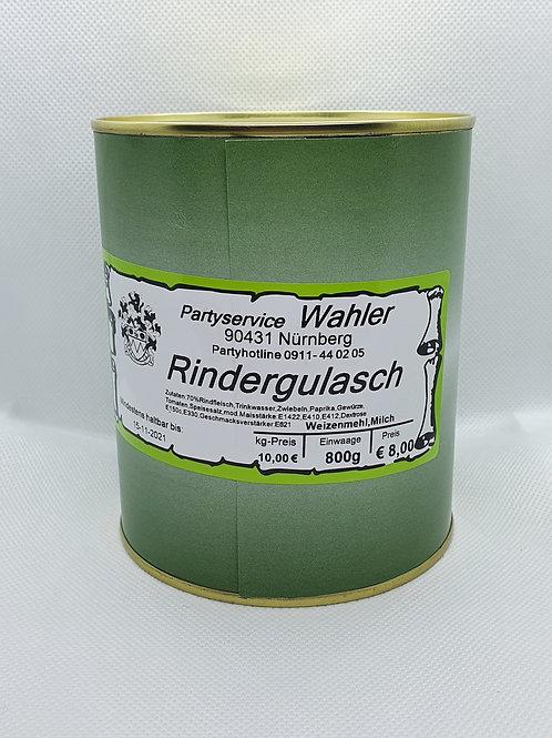 Rindergulasch - 800g Dose