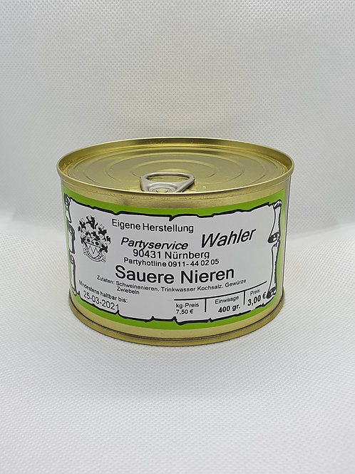Saure Nieren - 400g Dose