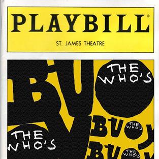 PLAYBILL: THE WHO'S BUOY
