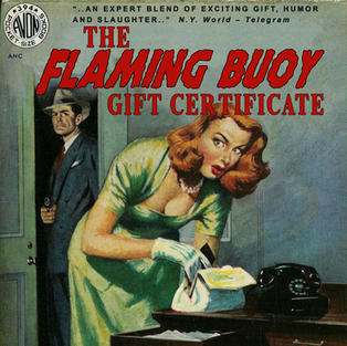 THE FLAMING BUOY GIFT CERTIFICATE