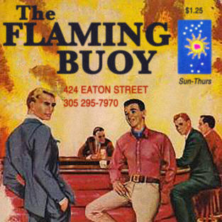 THE FLAMING BUOY