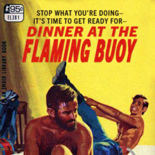 DINNER AT THE FLAMING BUOY