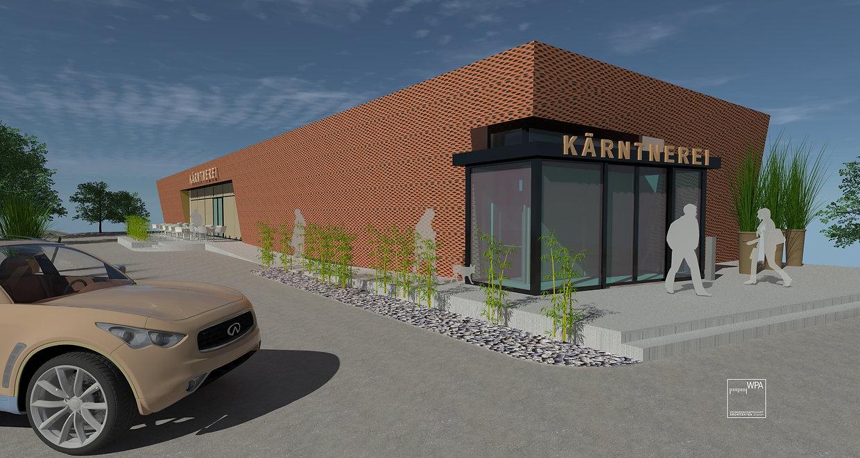 3D Visualisierung Kärntnerei Architekten