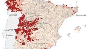 O radão continua com pouco controle em Espanha