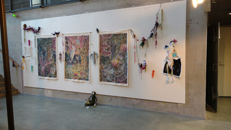 My every creation around me -installation