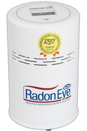 Aluguer de medidor digital de radão Radon Eye RD200