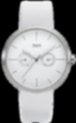 M&M-Germany-Uhr-Desig-Line-Damenuhr-Weis