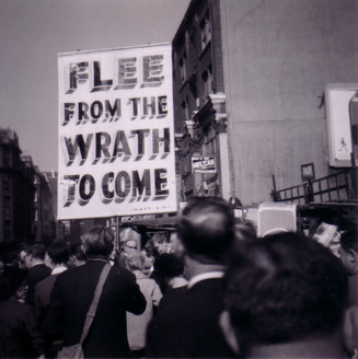 'FLEE FROM THE WRATH TO COME' London, UK (early 1960s)