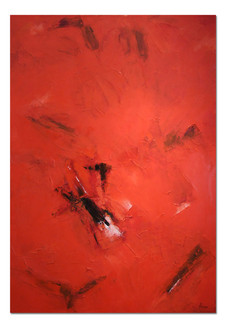 'Red Abstract 3'