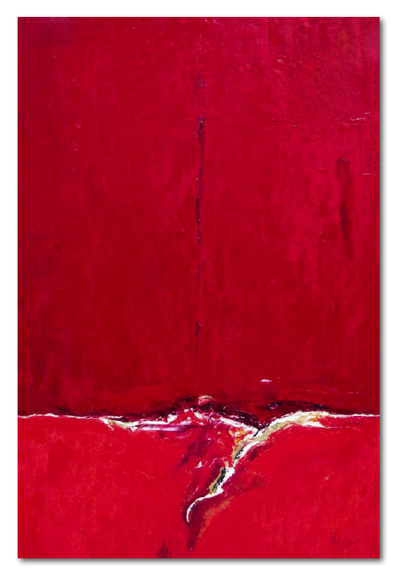 'Red Seascape 1'
