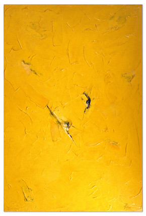 'Yellow Abstract 4'