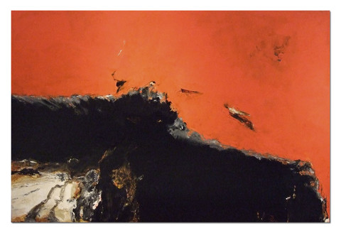'Red Seascape 4'