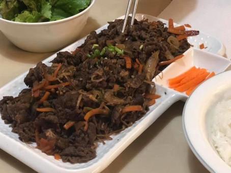 Bulgogi ( Korean BBQ beef)