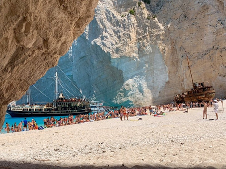 Zante, a place you would love to get shipwrecked..