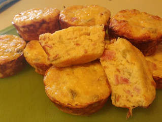 High Fat / Protein Breakfast Muffin