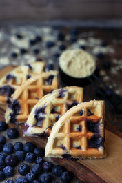 Blueberry Muffin Waffle