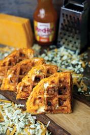 Cheddar Buffalo Waffle