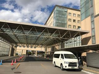 函館市立病院さまへ