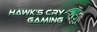 Hawk's Cry Gaming Social Media Banner