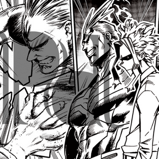 My Hero Academia All Might Coloring Page
